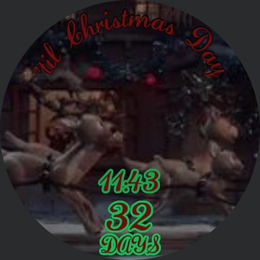 Santa Claus countdown