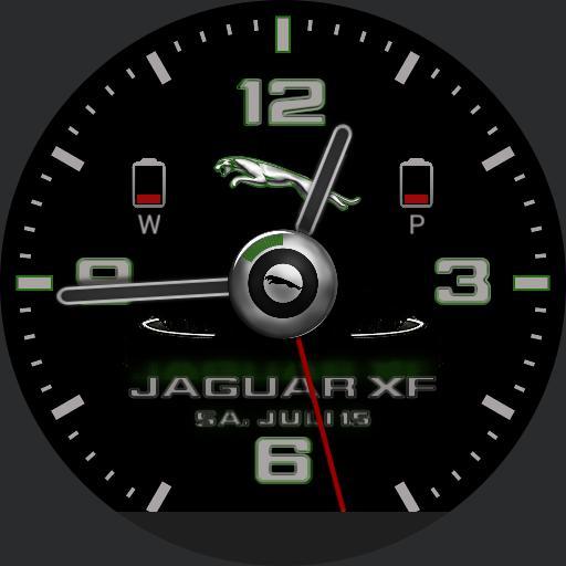 Jaguar Xf Racing-green