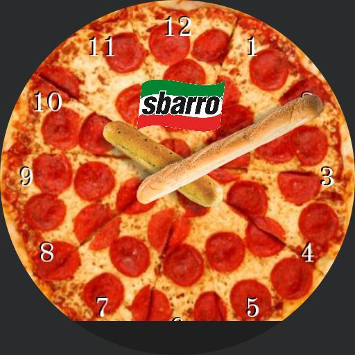 Sbarros pizza