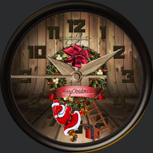 Christmas Holzwatch Animation