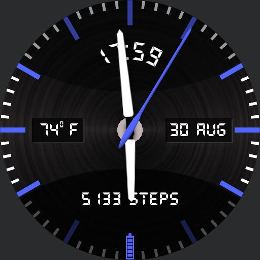Simple Blue Info