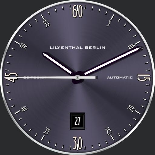 LILYENTHAL BERLIN Zeitgeist greyviolet