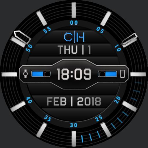 The Interrogator - Digital Hybrid - Blue