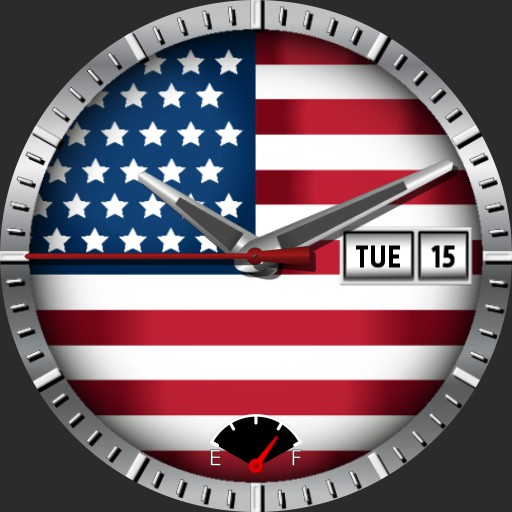 USA Flag theme watch