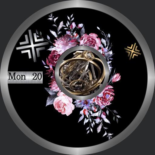 Floral 3d Tourbillon
