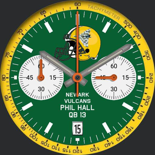 Newark Vulcans QB13 Watch