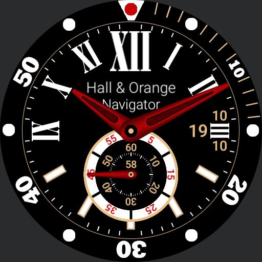 Hall and Orange Navigator 2