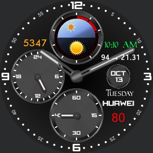 Black 24 hour classic chrono Copy