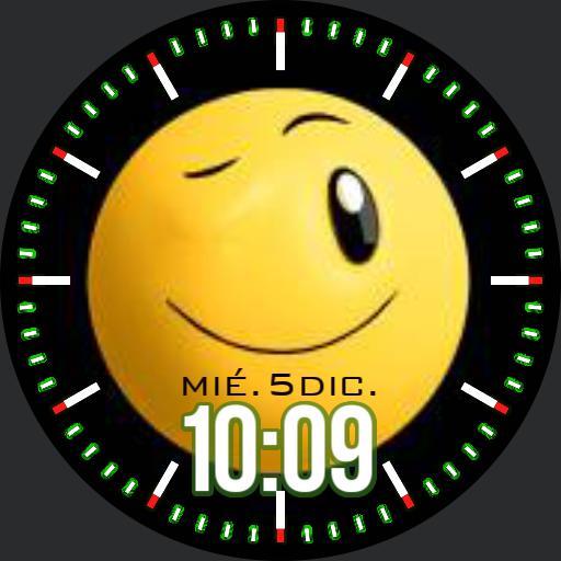Smiley Watchface