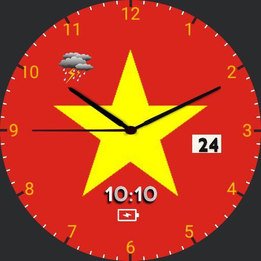 VietNam Flag Watch  Copy