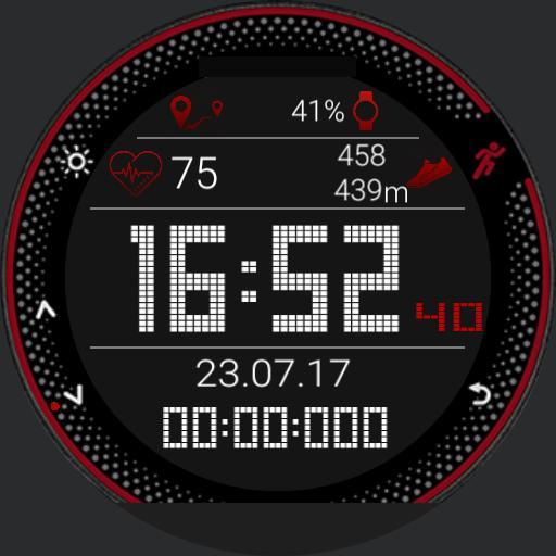 interactive runner watch