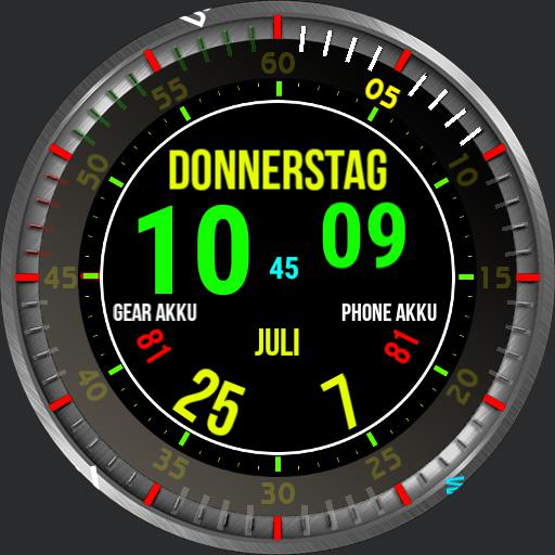 Daul Clock - 30 Second Animation