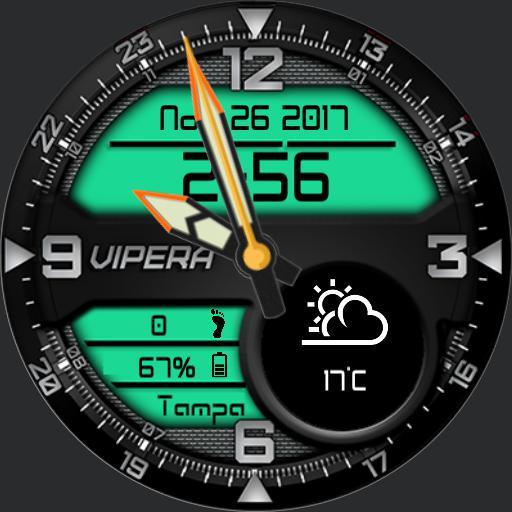 Vipera Green 1.0/24H