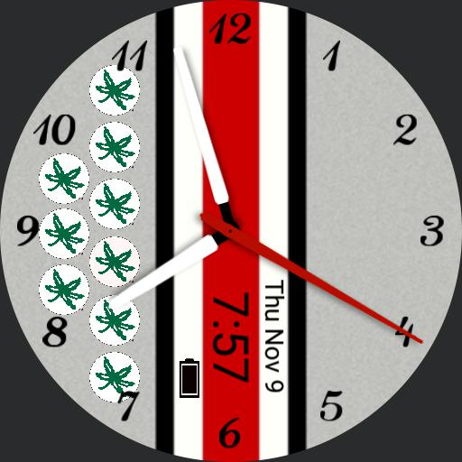 Ohio State Buckeyes Watchmaker Watch Faces