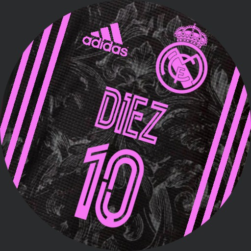 Real Madrid 2020-21  3rd shirt