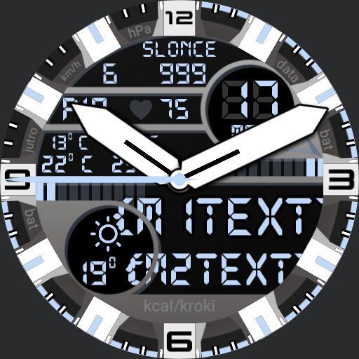 Digit Analog Watch 01 Winter Soldier KDB ver01