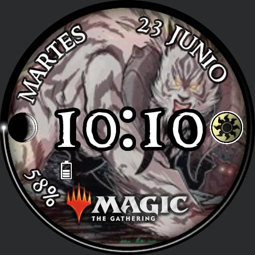 Magic White Cubwarden