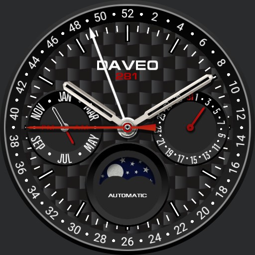 Daveo 281 Moon Phase Auto
