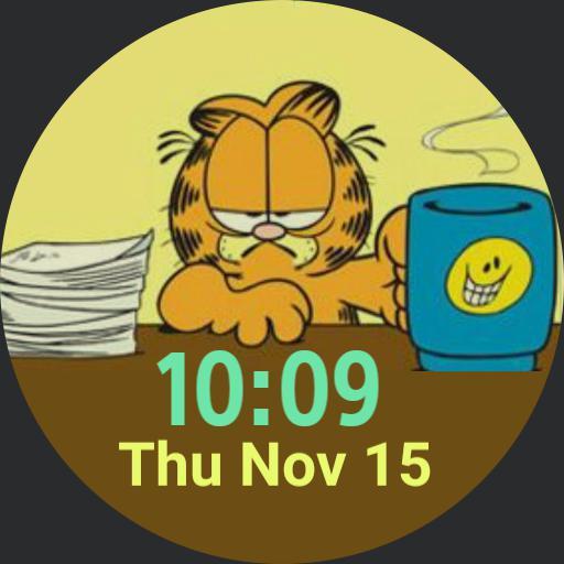 Working Garfield