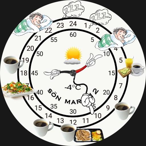 Food and sleep watch