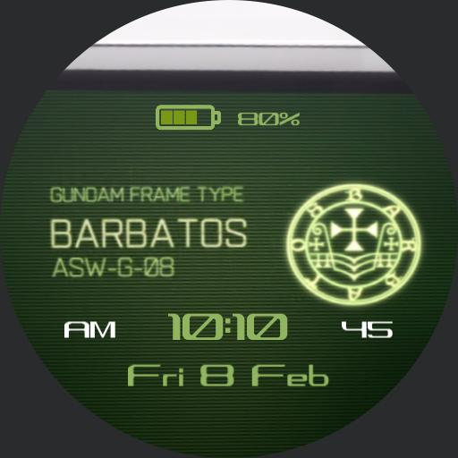 Barbatos Gundam Display