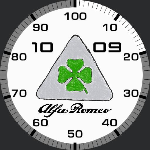 Simple Alfa Romeo Q.V drawing