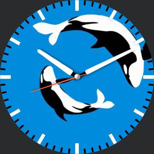 Animated Whale Dance