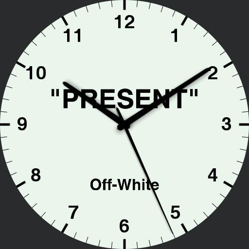 "Off-White c/o Virgil Abloh ""PRESENT"""