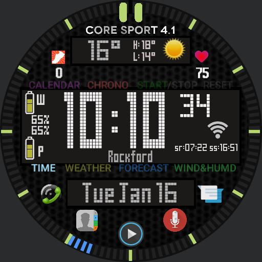 Core Sport 4.1 Function Redesign
