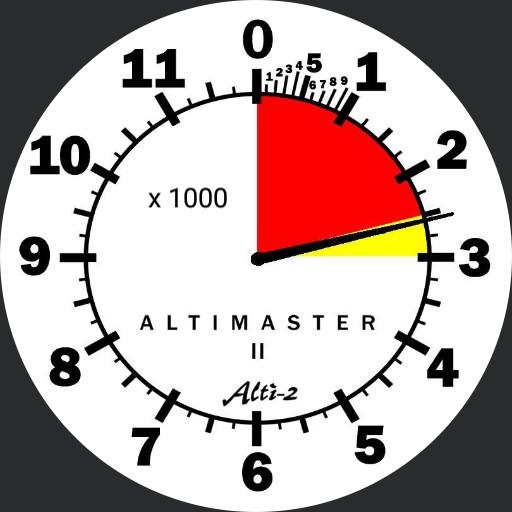Altimaster II tm - Apple vsn