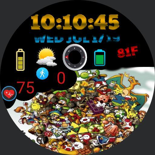 Nintendo Character Watch Theme