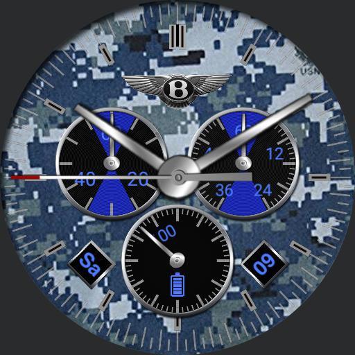 Bentley Blue Digital