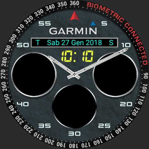 BIOMETRIC GARMIN CONNECTED full info  Copy