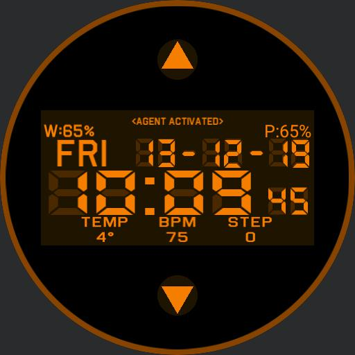 The division watchface