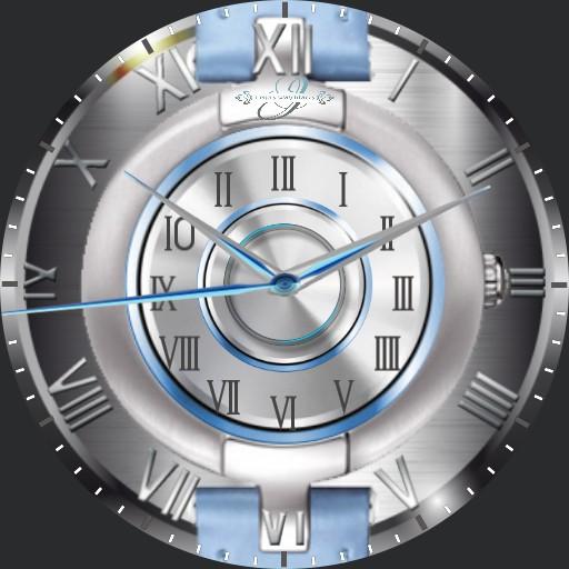 Watch in Watch blue