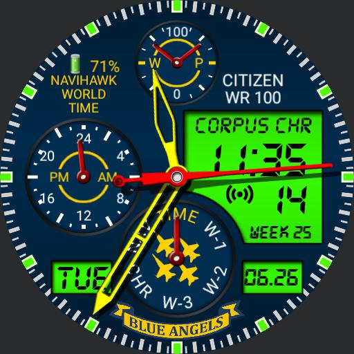 Citizen Navi Hawk V1.2 all green