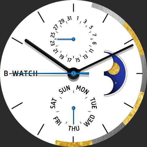 B-Watch Minimal Sun  Moon