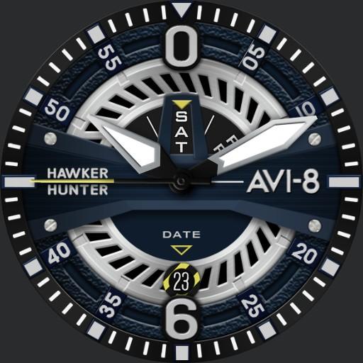 HAWKER HUNTER AV-4057