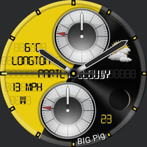 BIG PIG - Dual dial yingy thingy