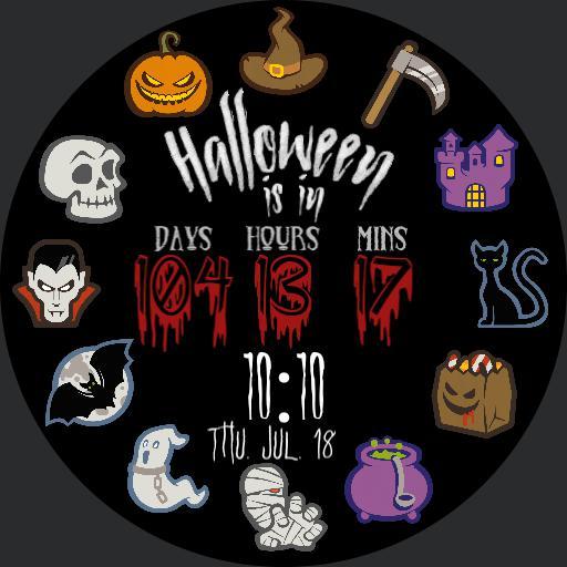 Halloween countdown