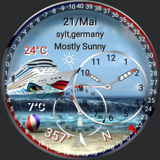 Wetter Watch , Kreuzfahrt