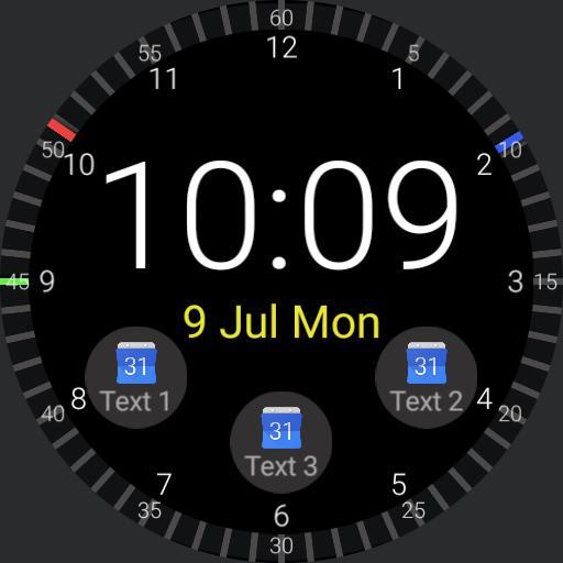 Linear Watchface V2