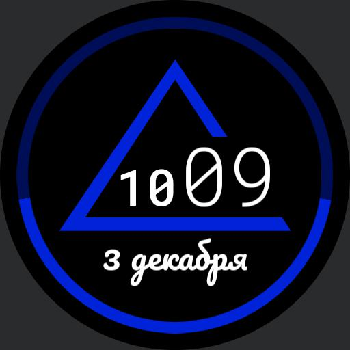 Minimalistic Triangle Watch v2.3