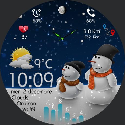 Snowman dec 2020