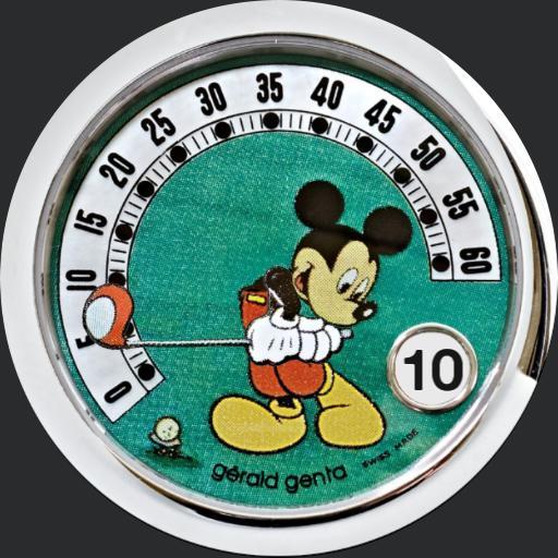 0 Mickey Golf by Gerald Genta