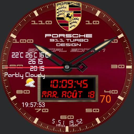 GB Porsche 911 Special Edition red Copy