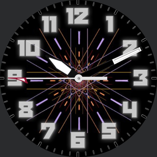 animated colorful watch