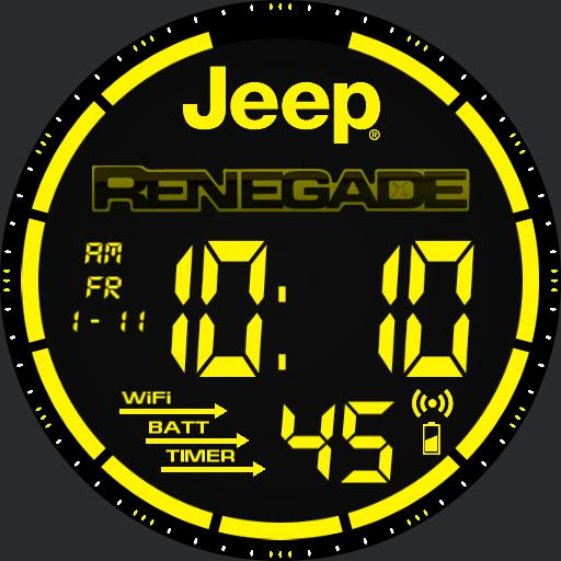 Jeep Renegade Watch yellow