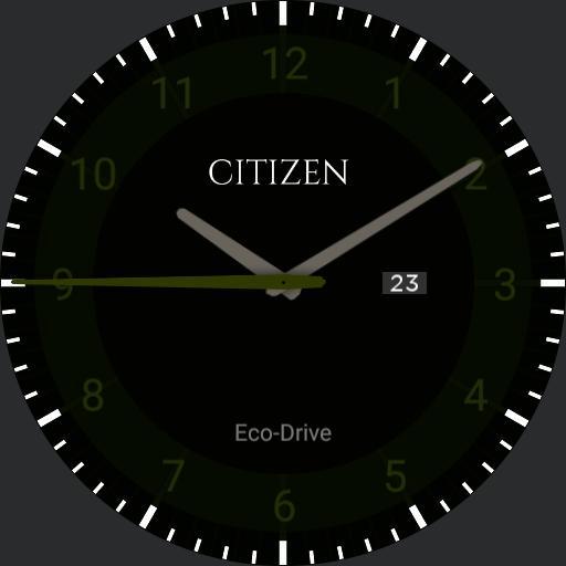 Citizen Eco-Drive Formal Green