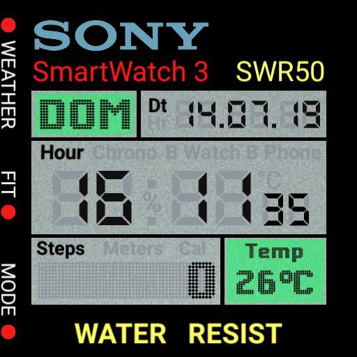 Retro Sony multifunction by Adames Copy